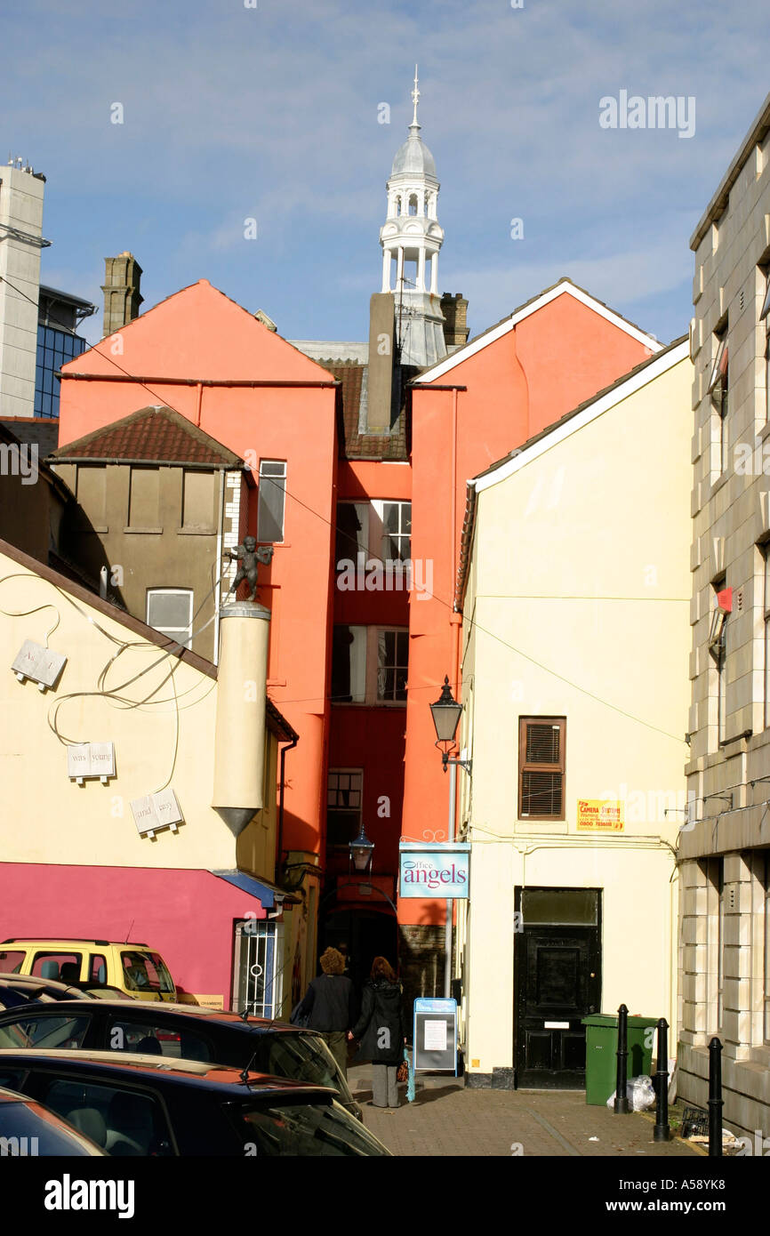 Salubrious Passage Swansea South Wales - Stock Image