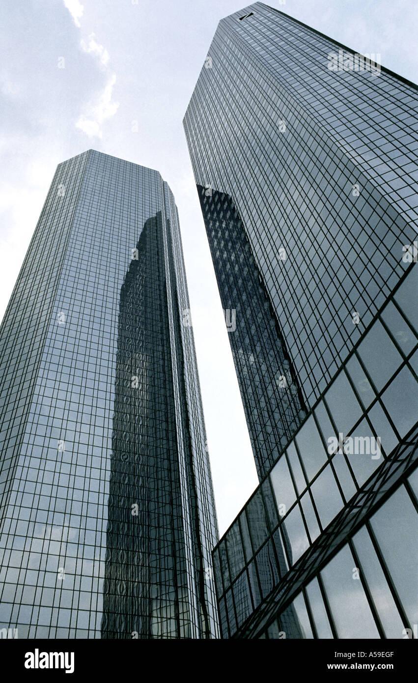 Deutsche Bank in Frankfurt am Main Hessen - Stock Image