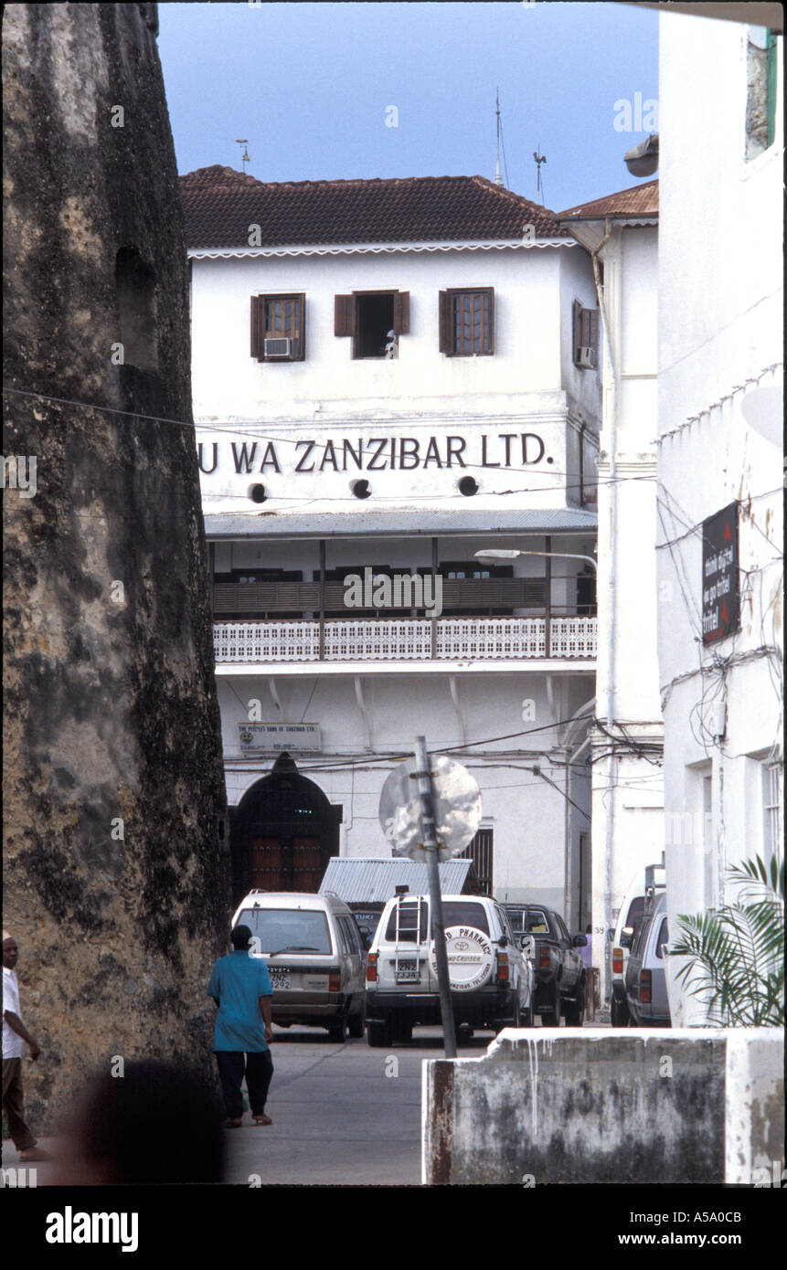 stone town zanzibar afrique tanzanie - Stock Image