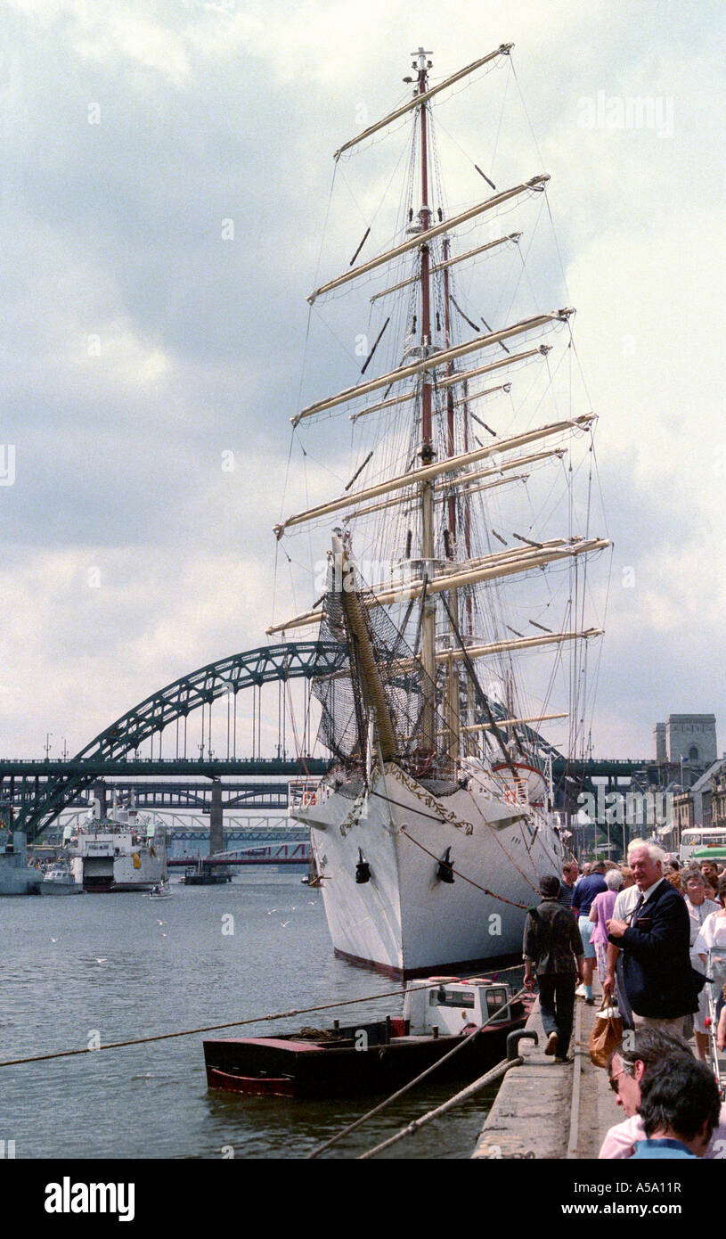 Tall Ships Race, Newcastle upon Tyne, UK - Stock Image