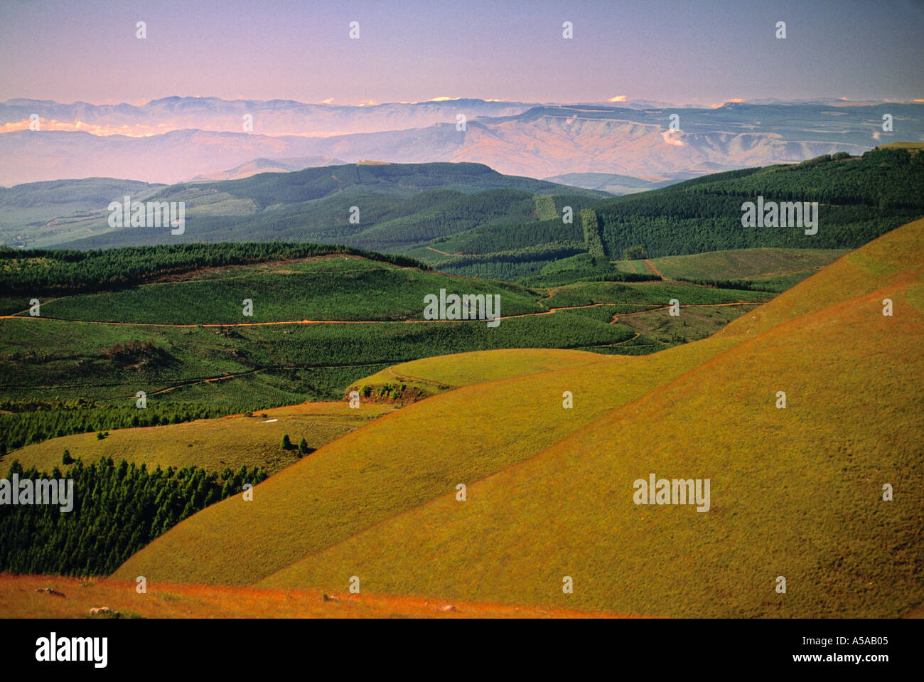Long Tom Pass, Klein Drakensburg, South Africa - Stock Image