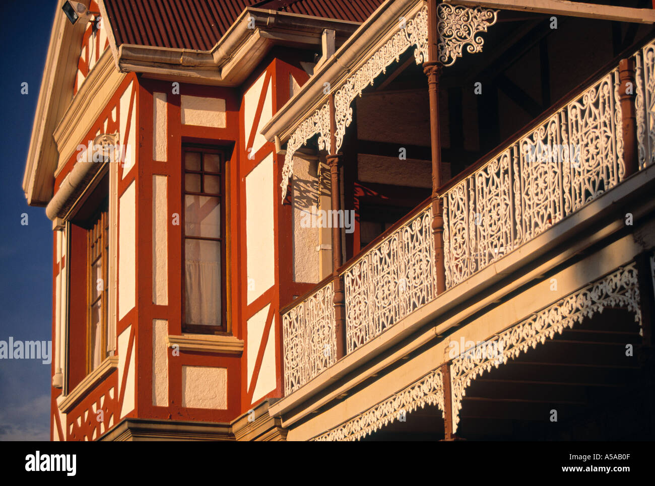 Foster House, Oudtshoorn, Klein Karoo, Cape Province, South Africa - Stock Image