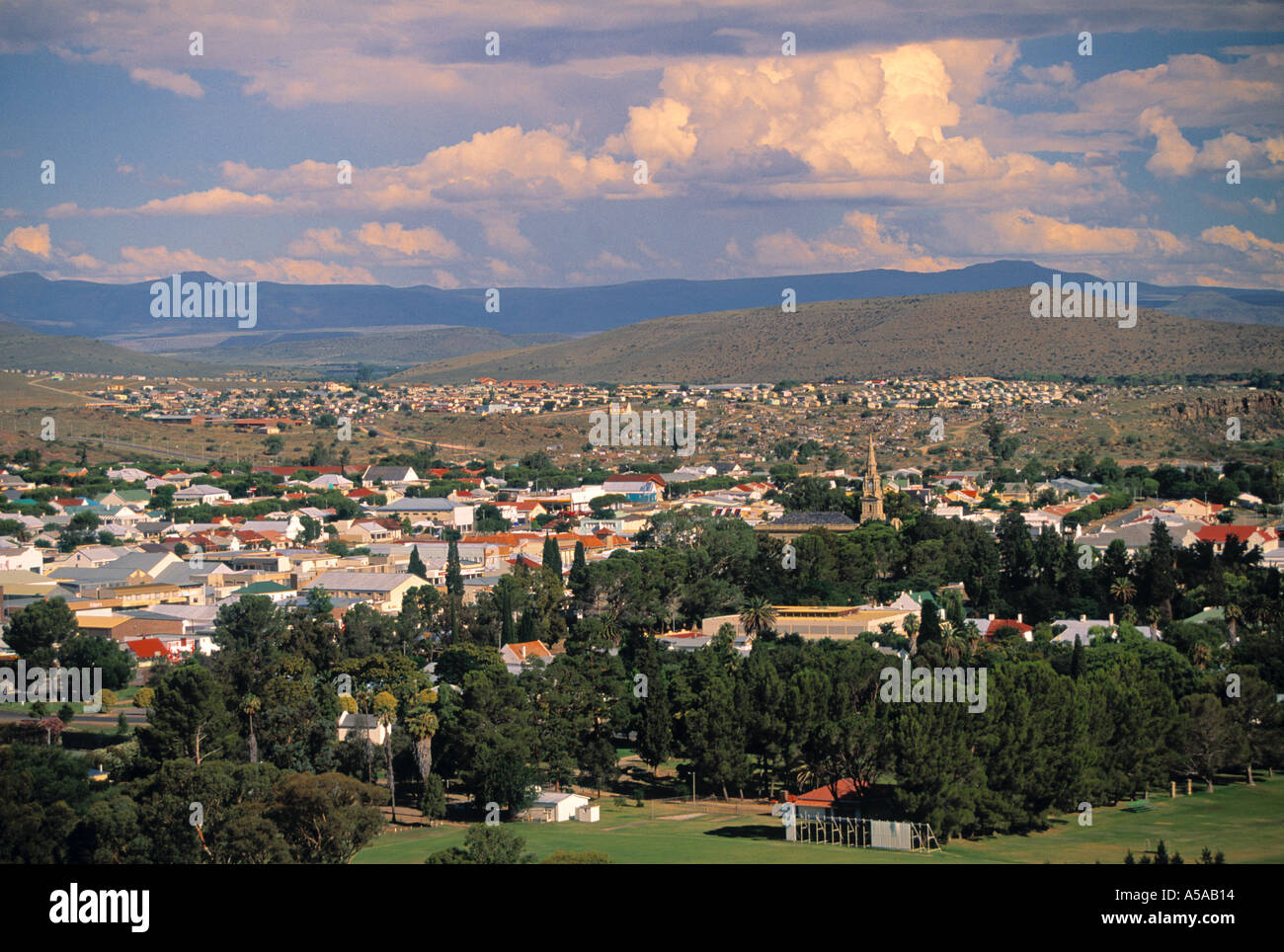 Karoo Town, Eastern Cape, South Africa - Stock Image