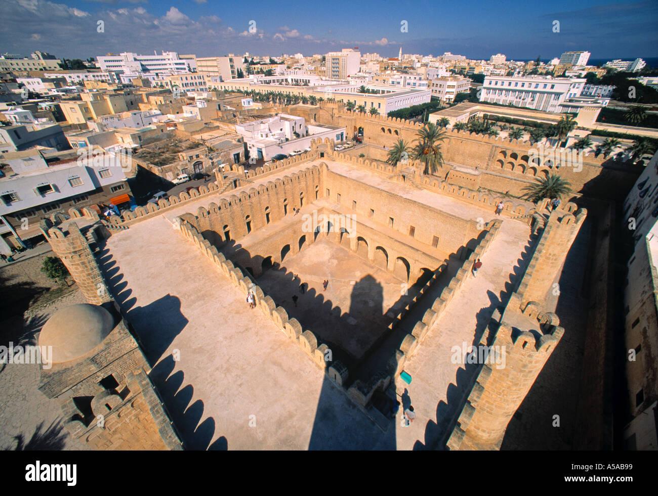 Ribat (Fortress), Sousse, Tunisia Stock Photo