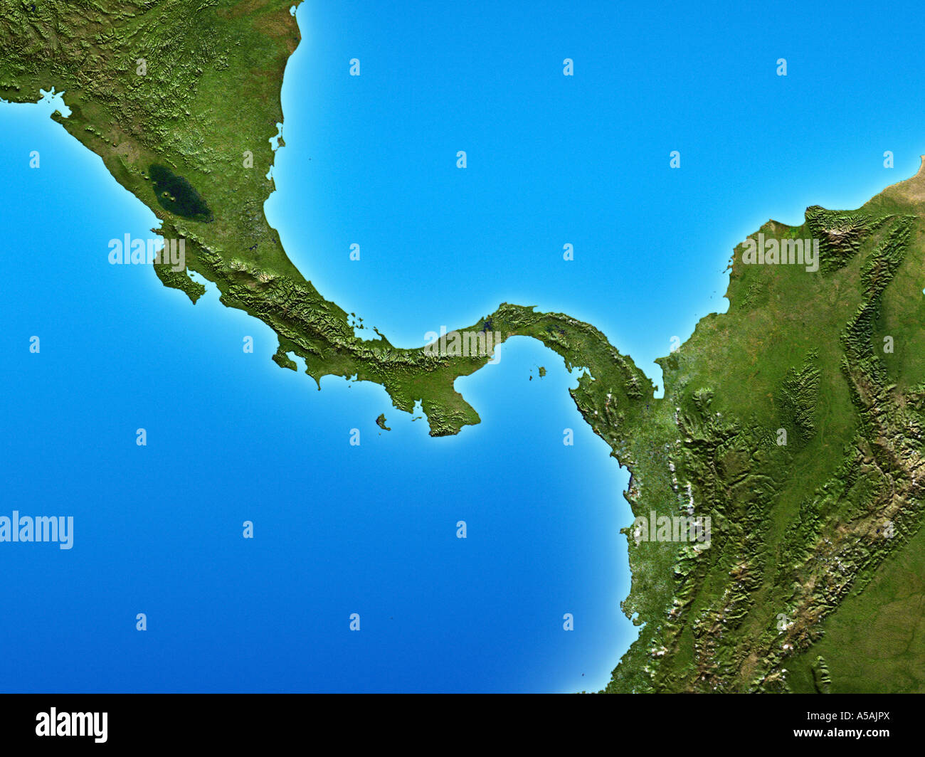 isthmus of central america stock photo 11252017 alamy