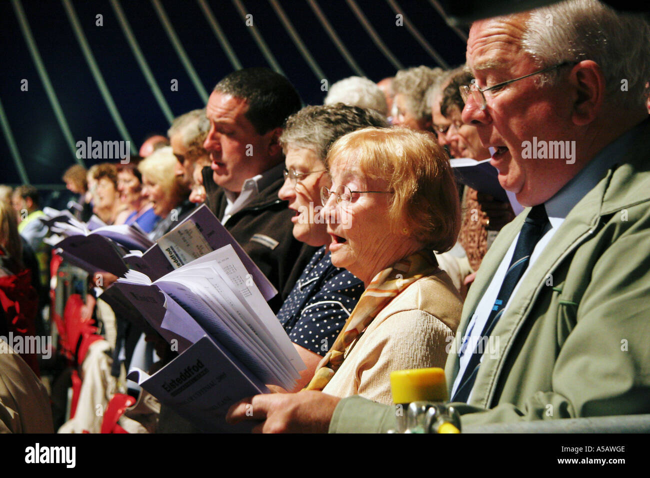 Hymn Singing High Resolution Stock Photography and Images - Alamy