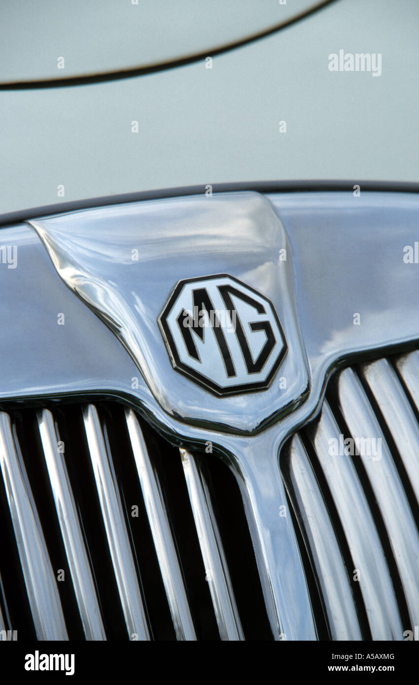 MG A Coupe 1500. English car manufacturer - Stock Image