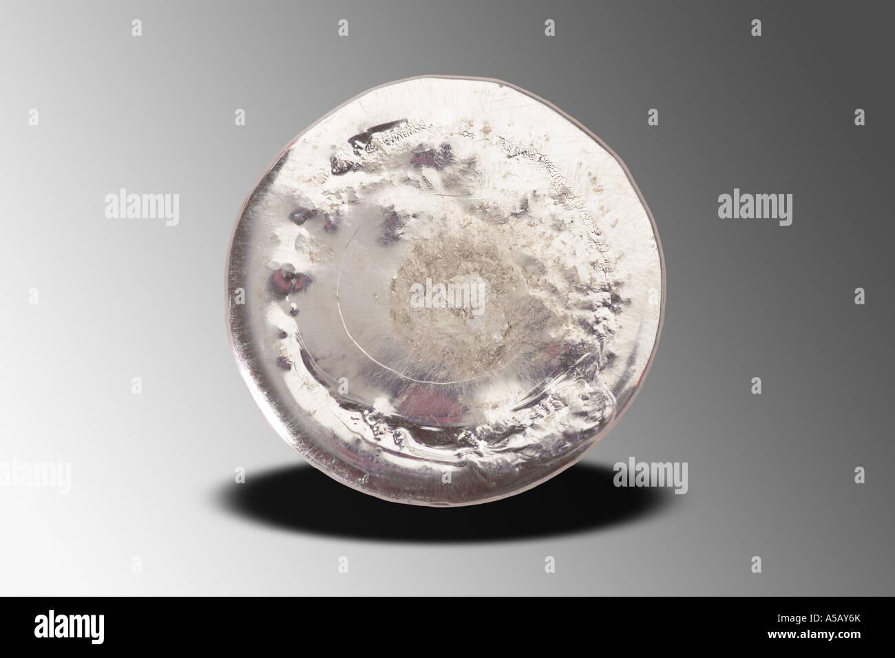 Elemental Tin - Stock Image