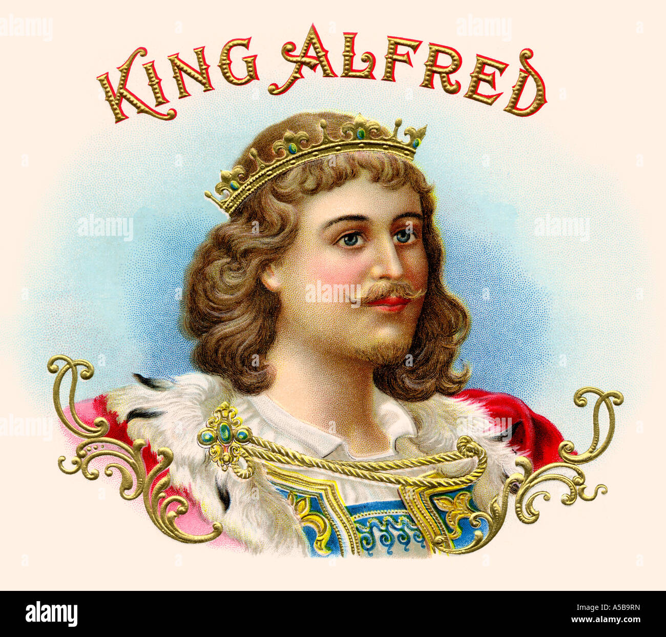 King Alfred - Stock Image
