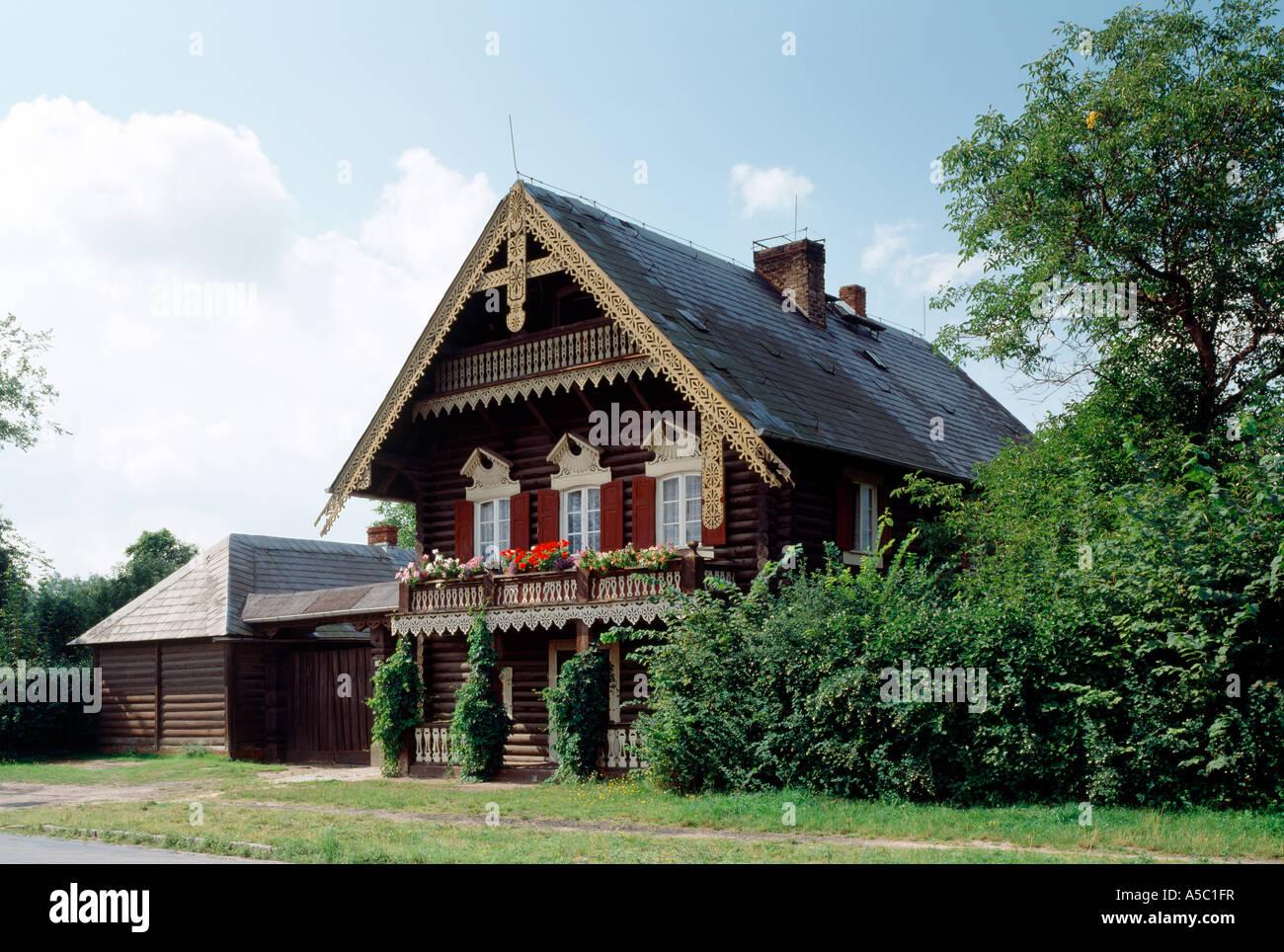 Malerisch Russisches Holzhaus Galerie Von Potsdam, Russische Kolonie,