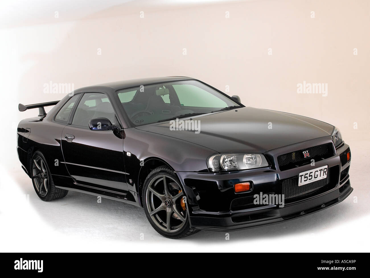 1999 Nissan Skyline GTR 34   Stock Image