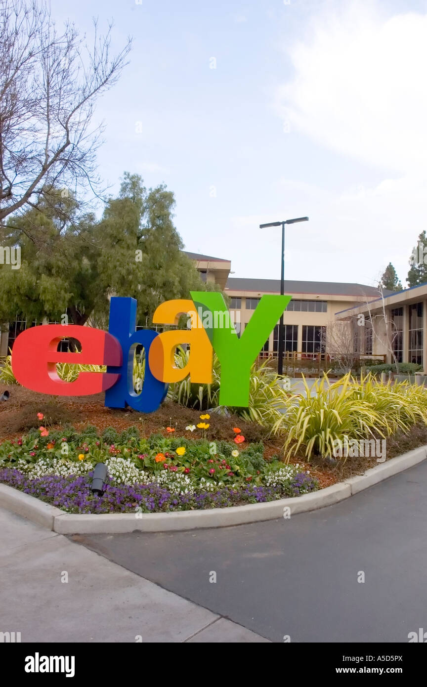 EBay corporate Headquarters in San Jose California Stock