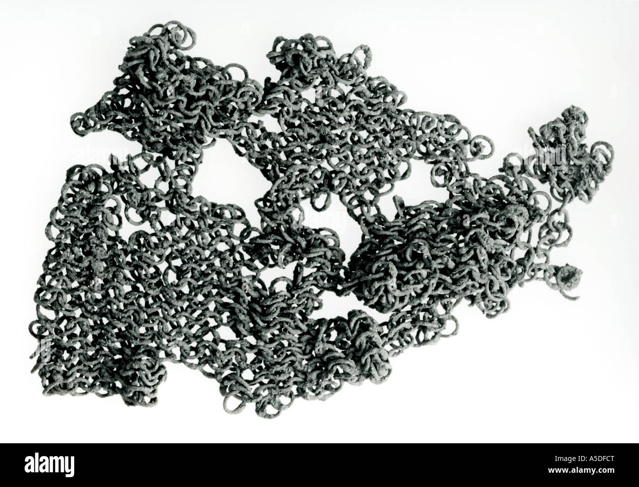 Chain mail - Stock Image