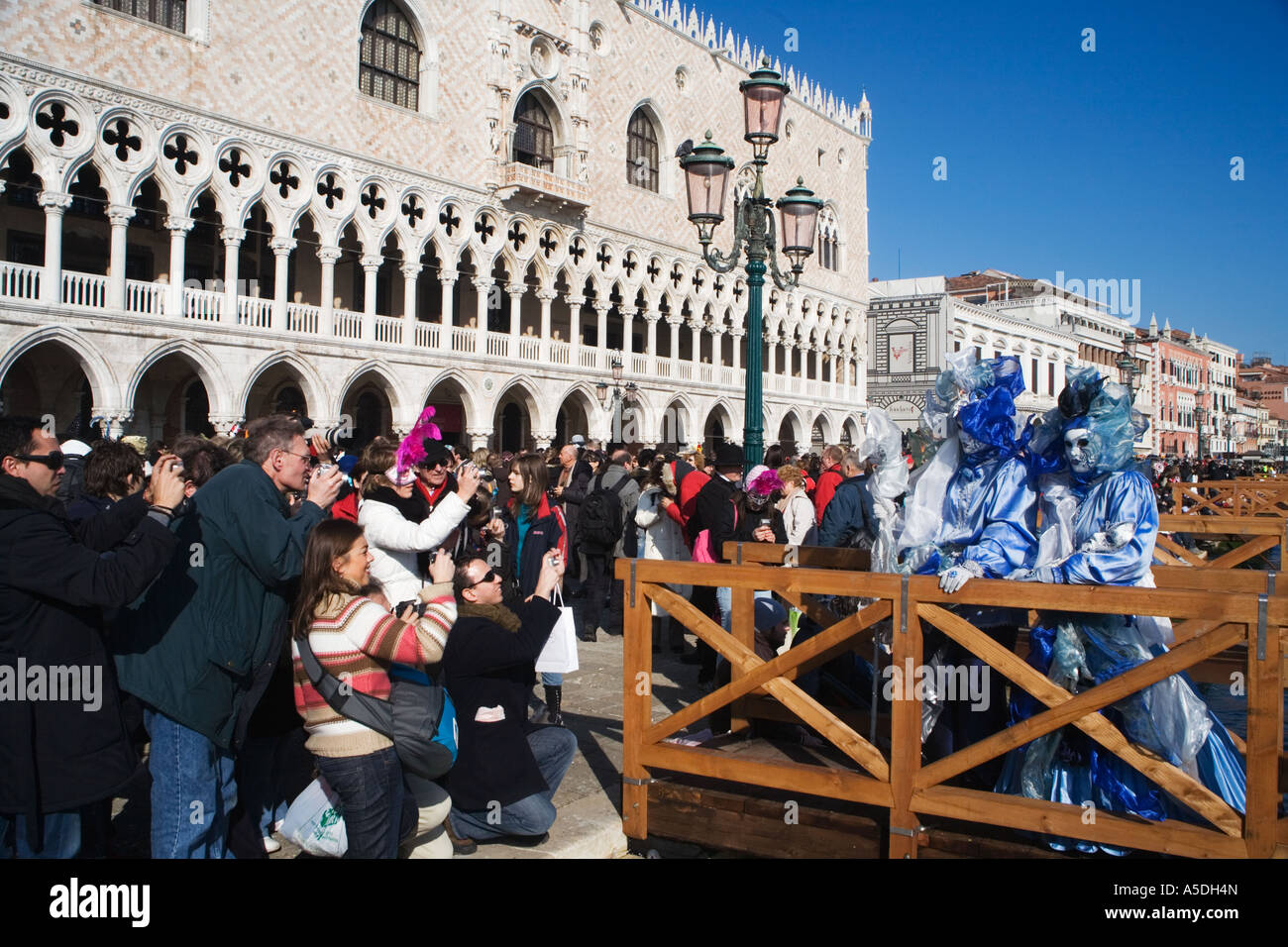7e51df900e8e Photographers photographing masked people at the Venice Carnival, Italy  2007 - Stock Image