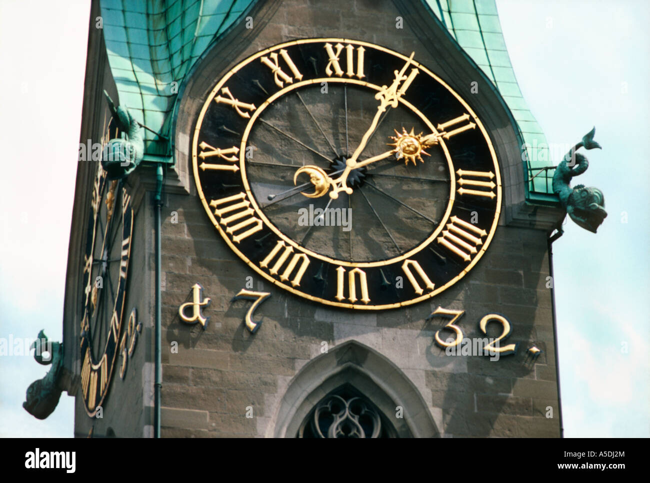 Large Clock Face Built In 1732 Largest Clock Face In The World