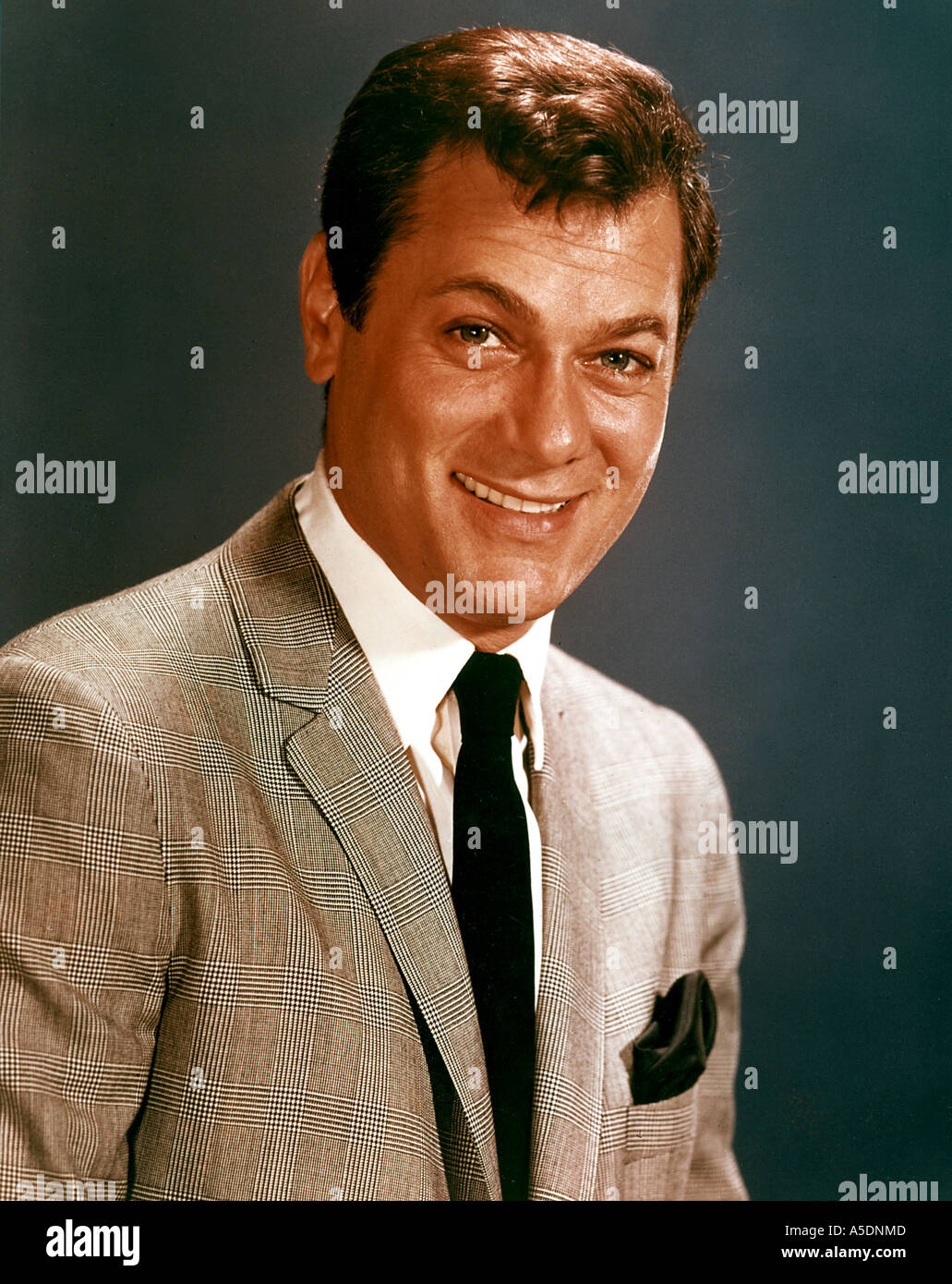 TONY CURTIS US actor - Stock Image