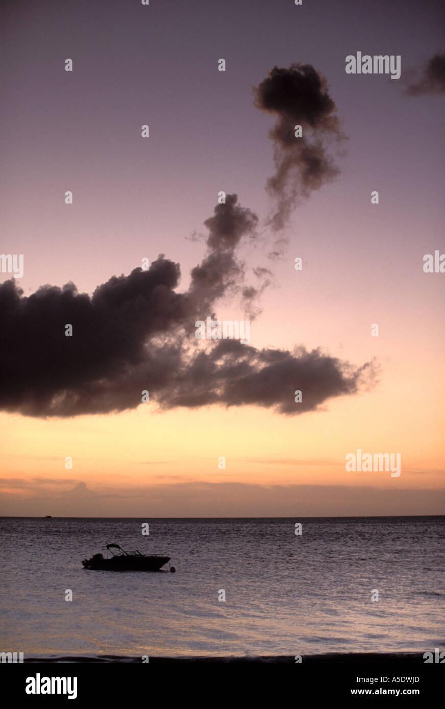 Sunset, Ocean Club West, Grace Bay, Providenciales, Turks