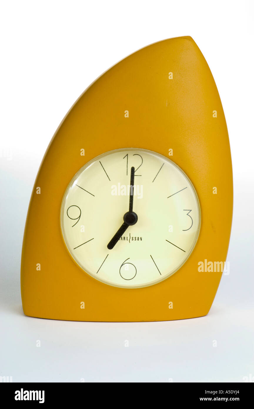 Analog Clock @ 7 - Stock Image