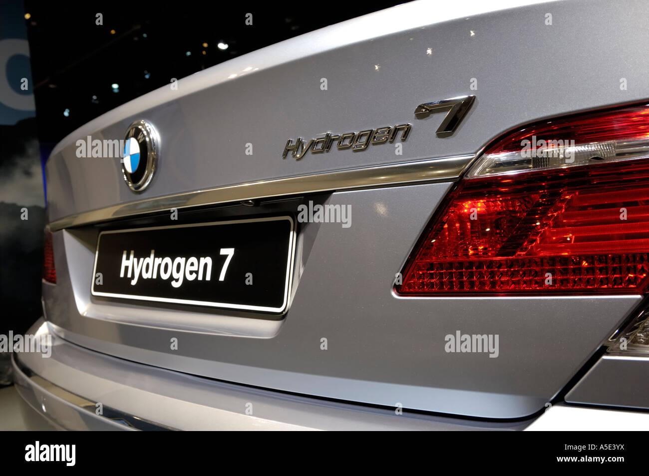 BMW Hydrogen 7 at the North American International Auto Show 2007 ...