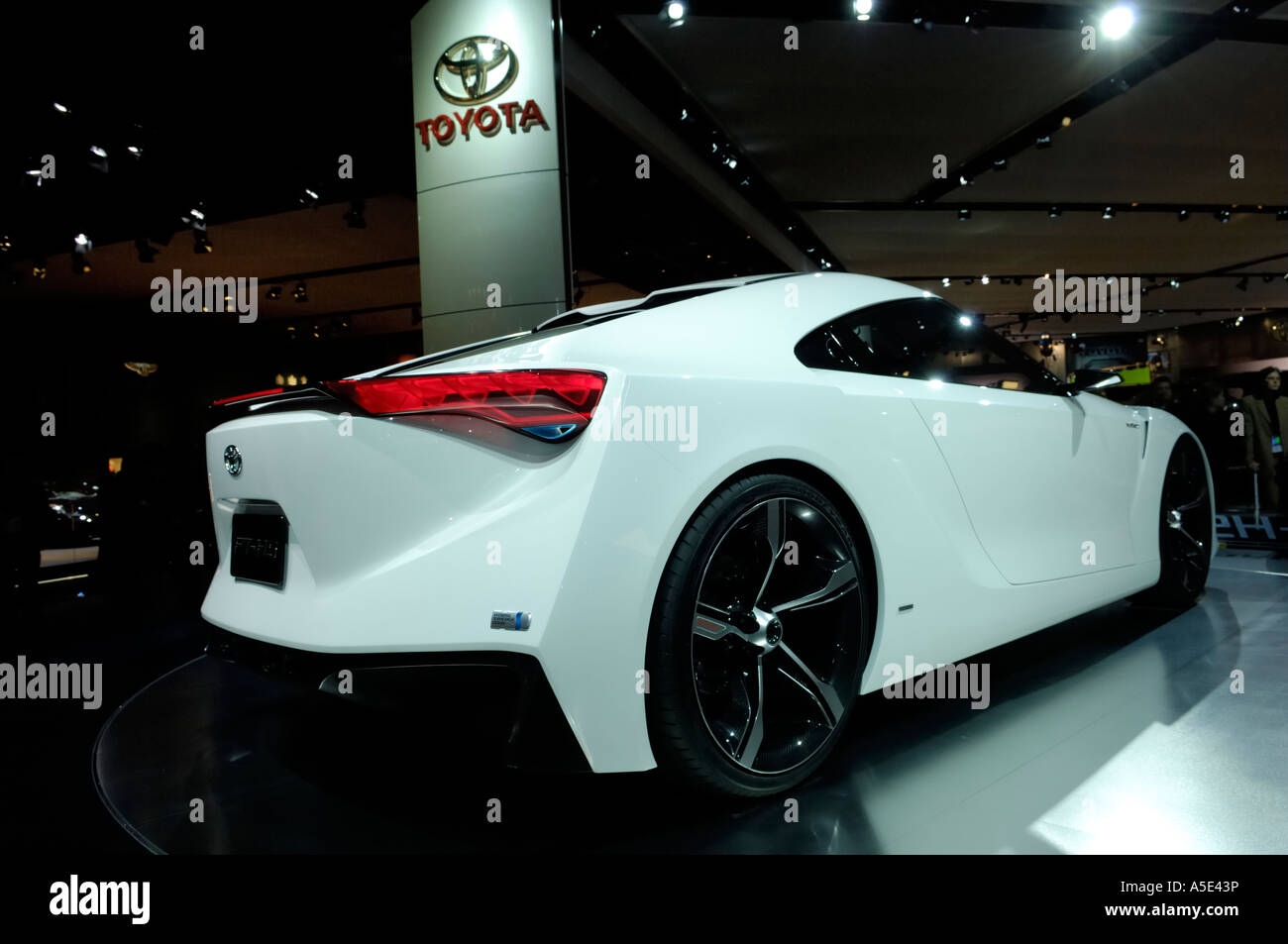 The Toyota FT HS Concept Car At The 2007 North American International Auto  Show