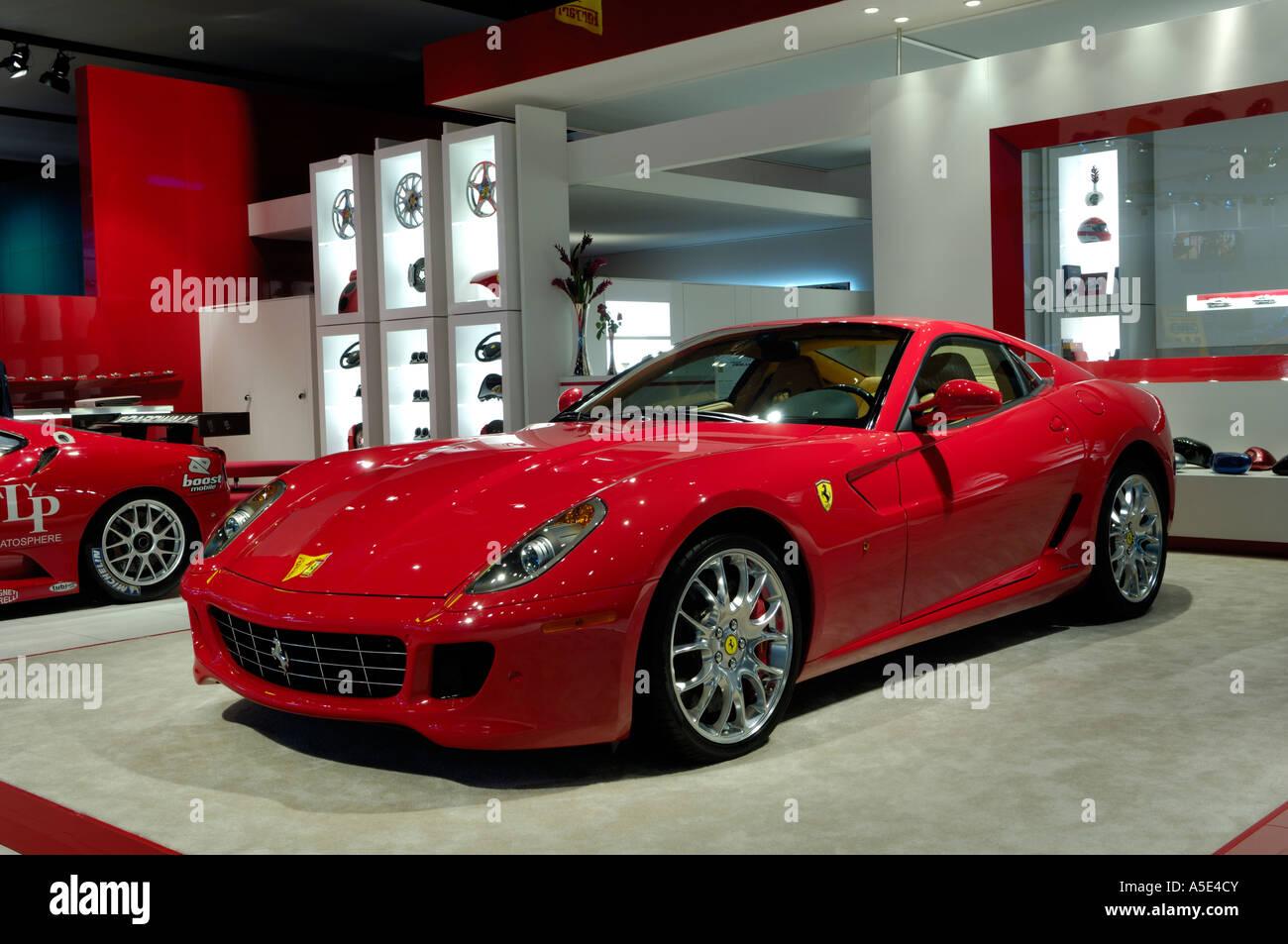 2007 Ferrari 599 Gtb Fiorano At The North American International Auto Stock Photo Alamy