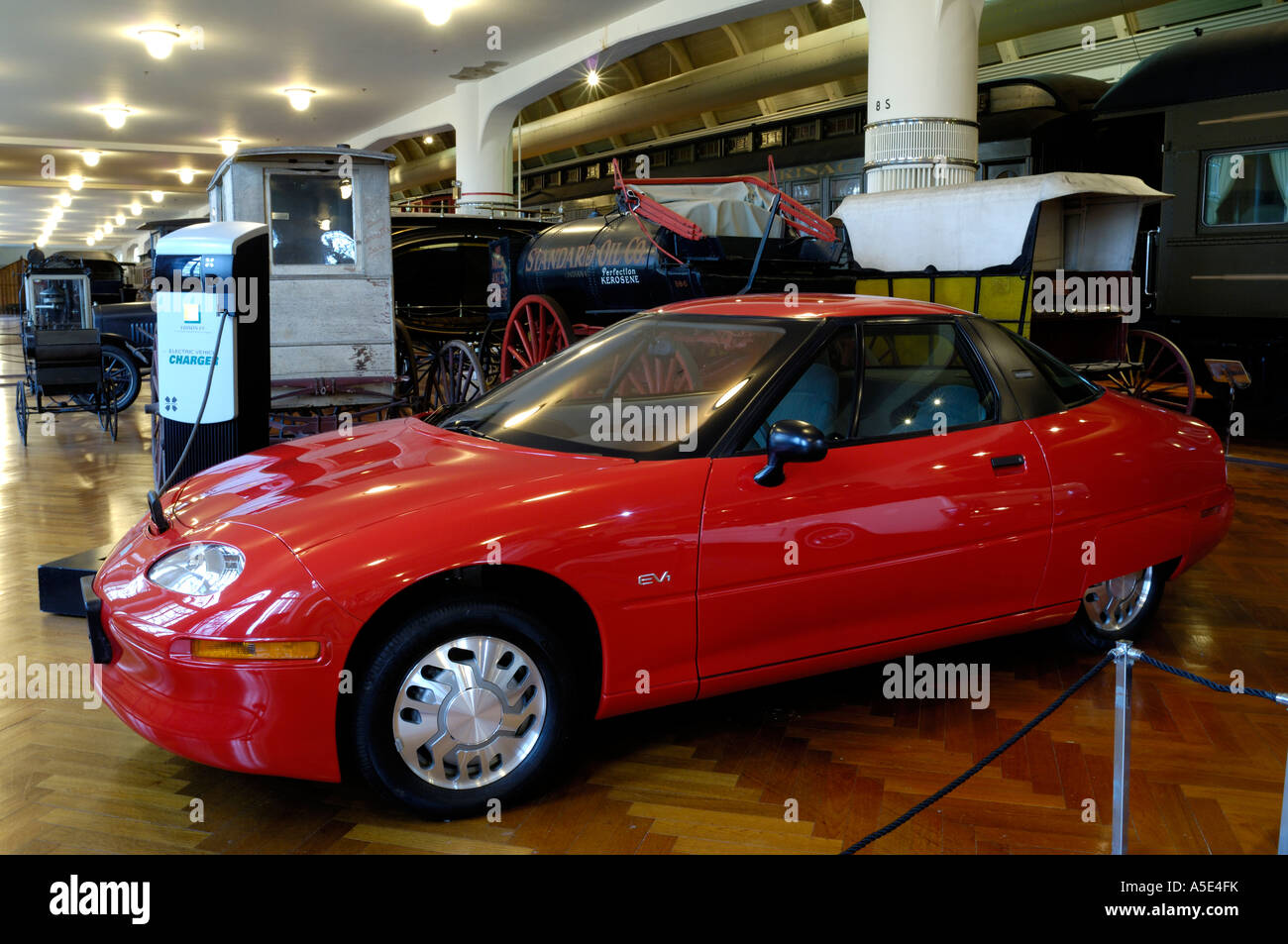 1997 General Motors EV1 electric car at the Henry Ford ...
