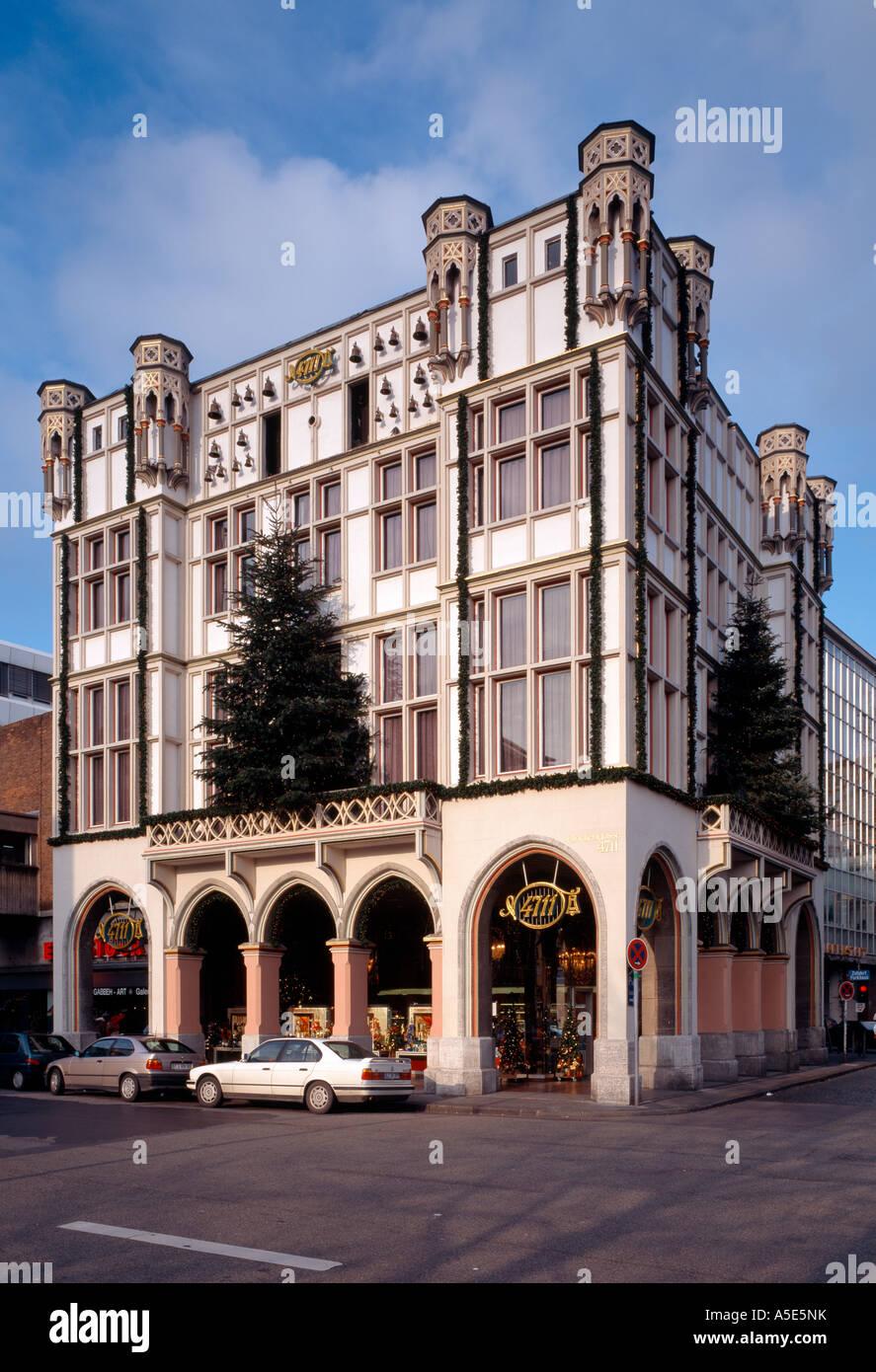 """Köln, ehemaliges Haus Glockengasse 4711, """"Stammsitz der Firma """"""""4711"""""""", Hersteller von """"""""Kölnisch Wasser"""""""""""" Stock Photo"""
