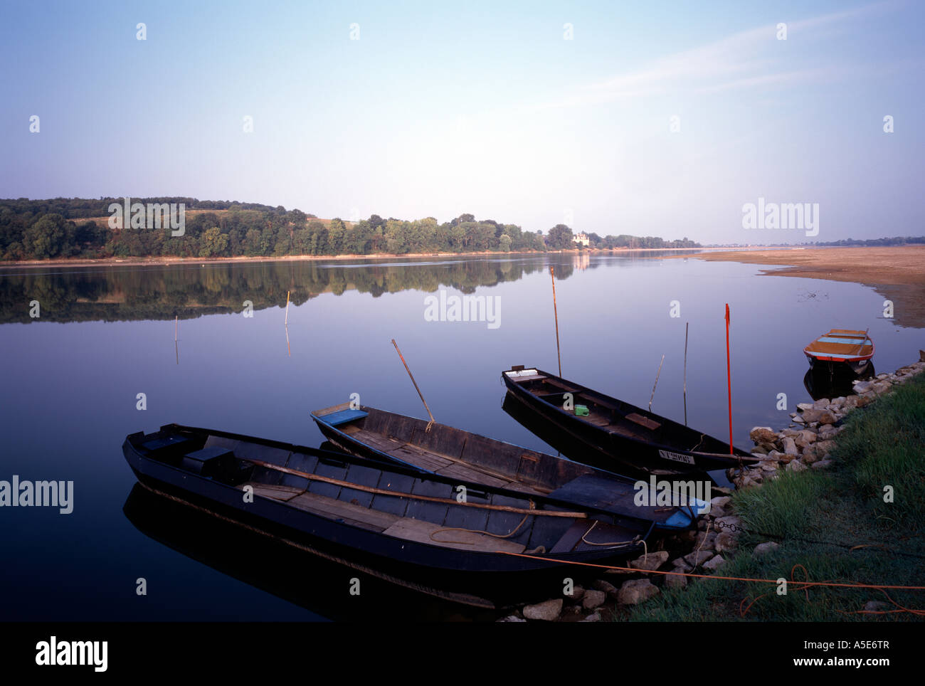 Loire bei Angers, - Stock Image