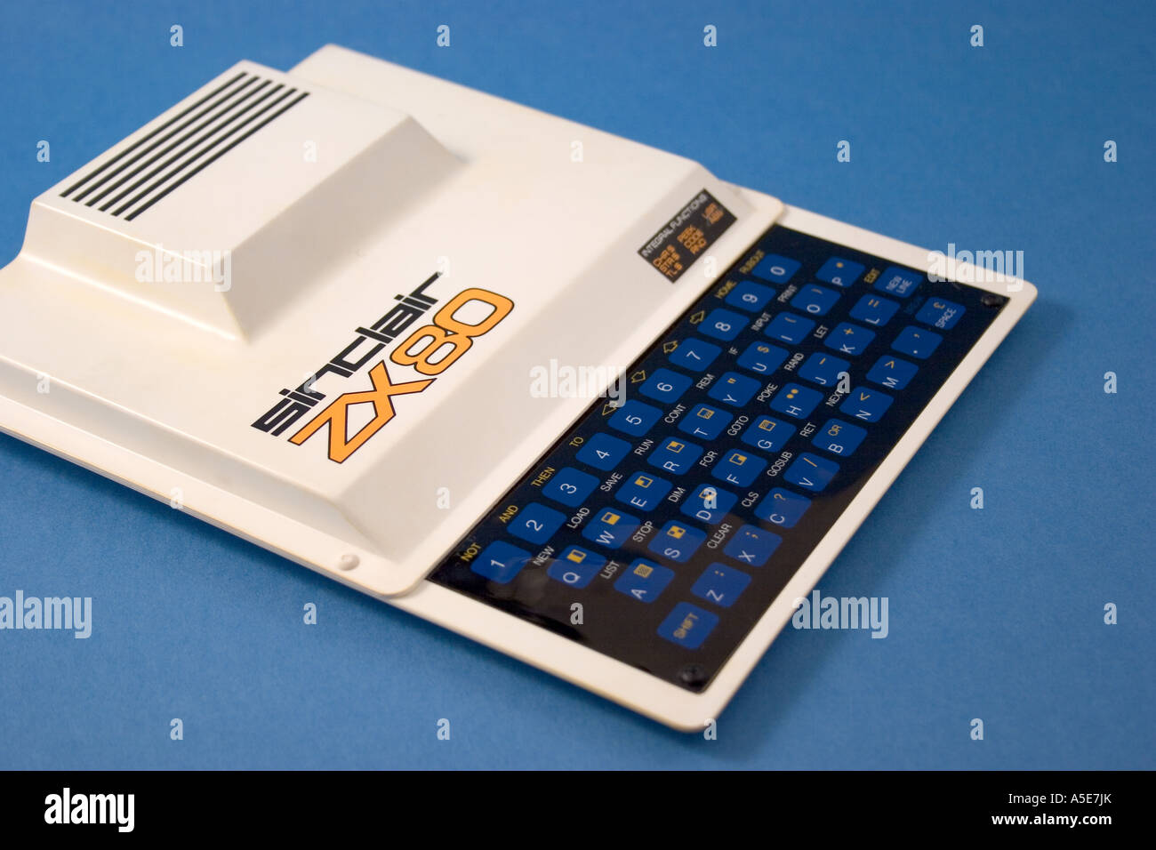 Sinclair ZX80 home computer - Stock Image