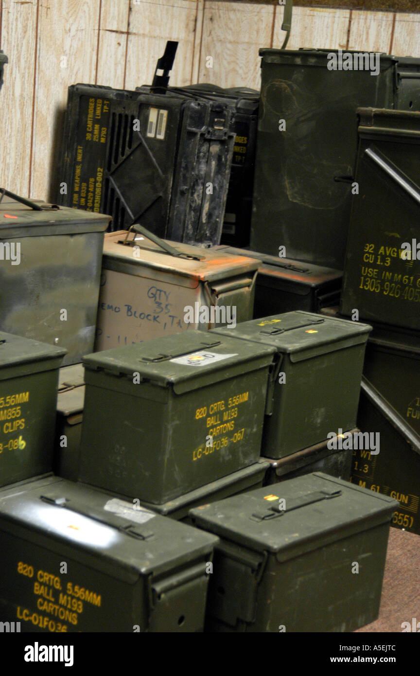 p3 068 military surplus ammo boxes vert stock photo 6451211 alamy