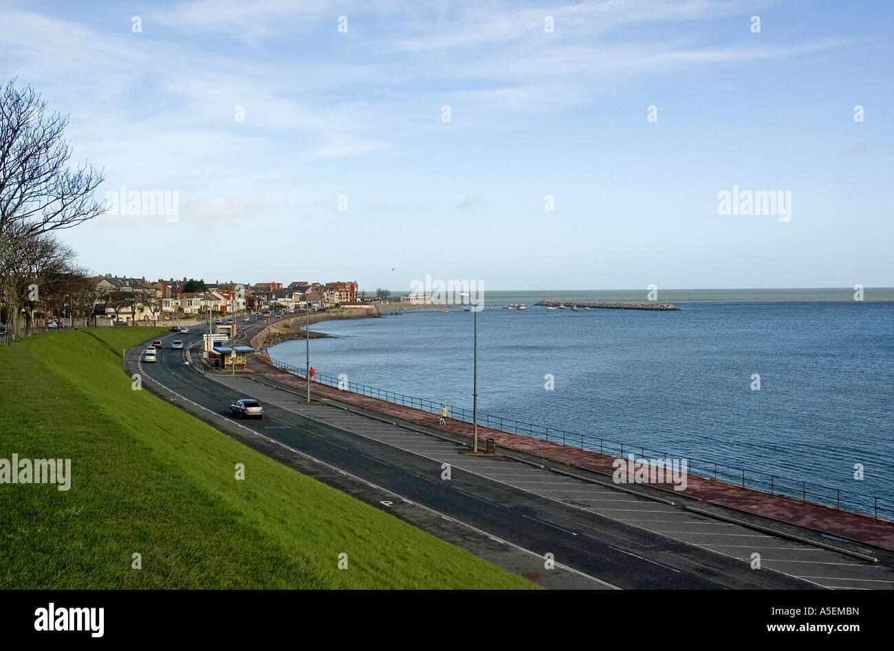 Promenade Colwyn Bay - Stock Image