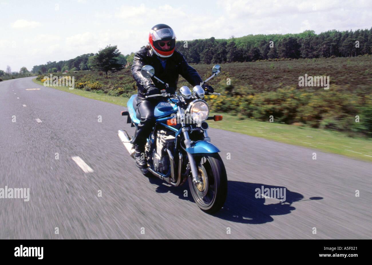 1996 Suzuki Bandit N600 motorcycle - Stock Image