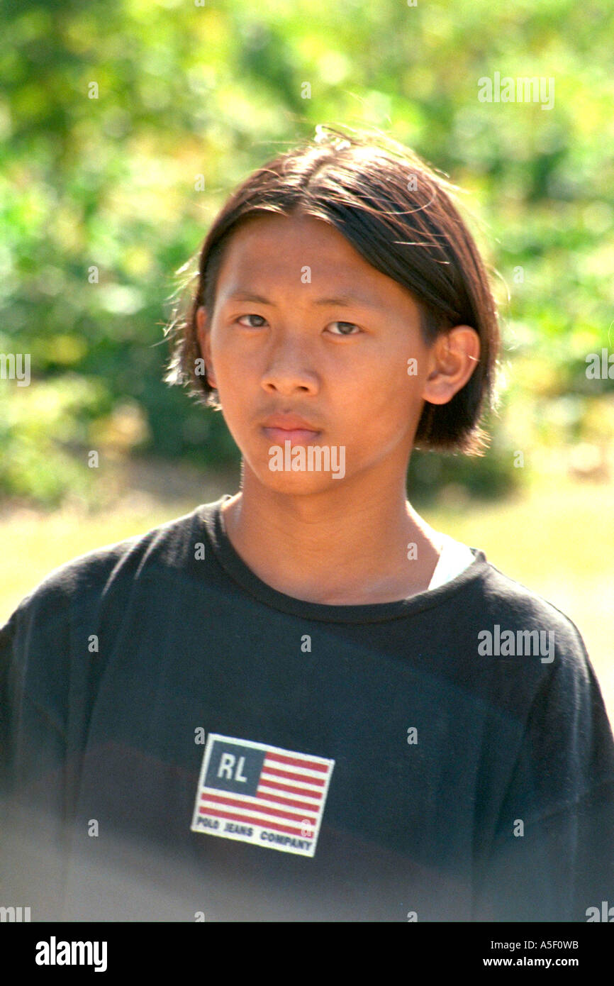 asian teen boy