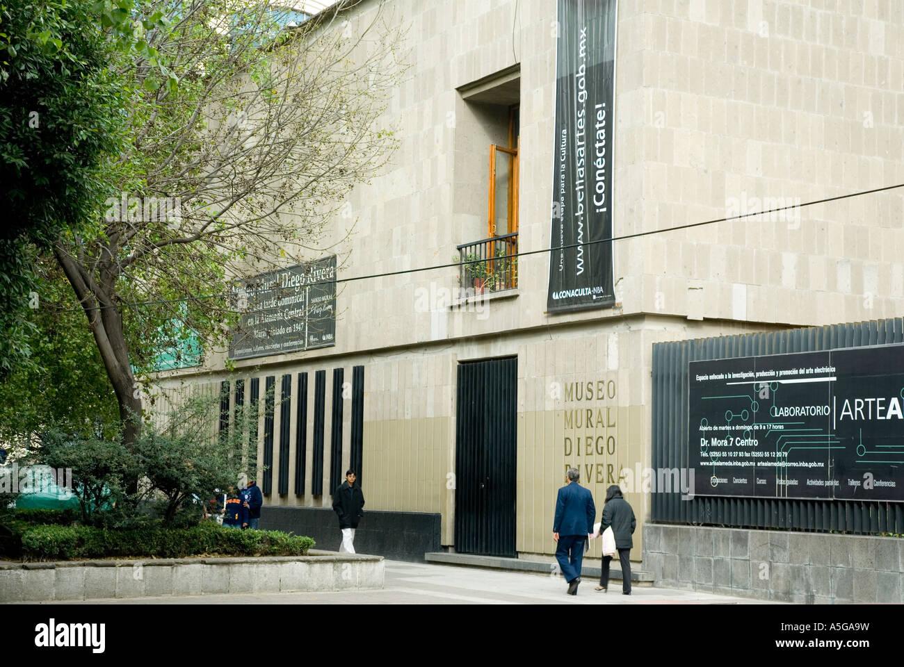 Museo Mural Diego Rivera Mexico City Stock Photo 11305620 Alamy