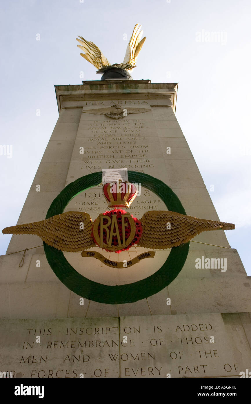 Memorial to RAF personnel killed in battle - Stock Image