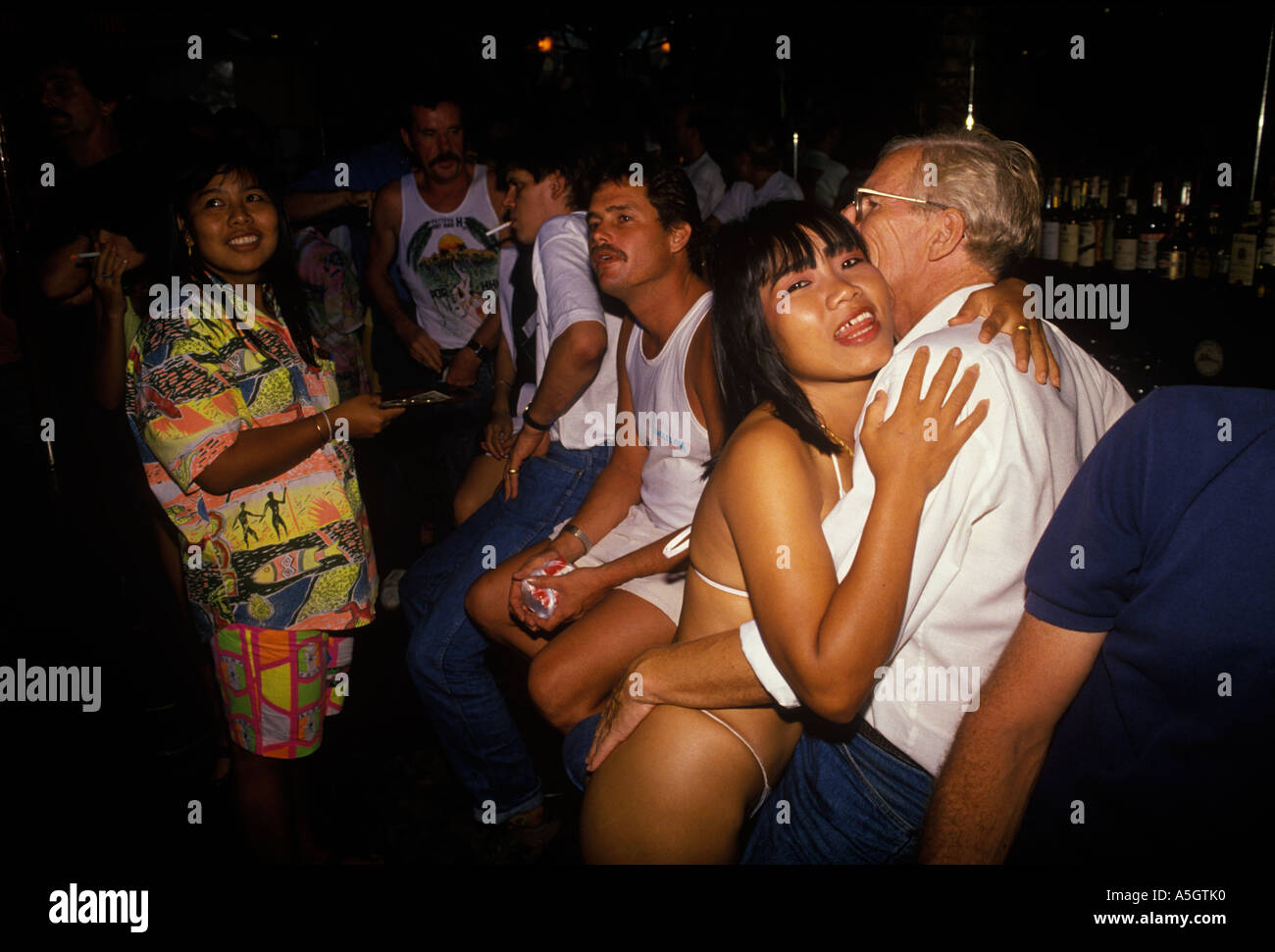 Sex with thai bar girl