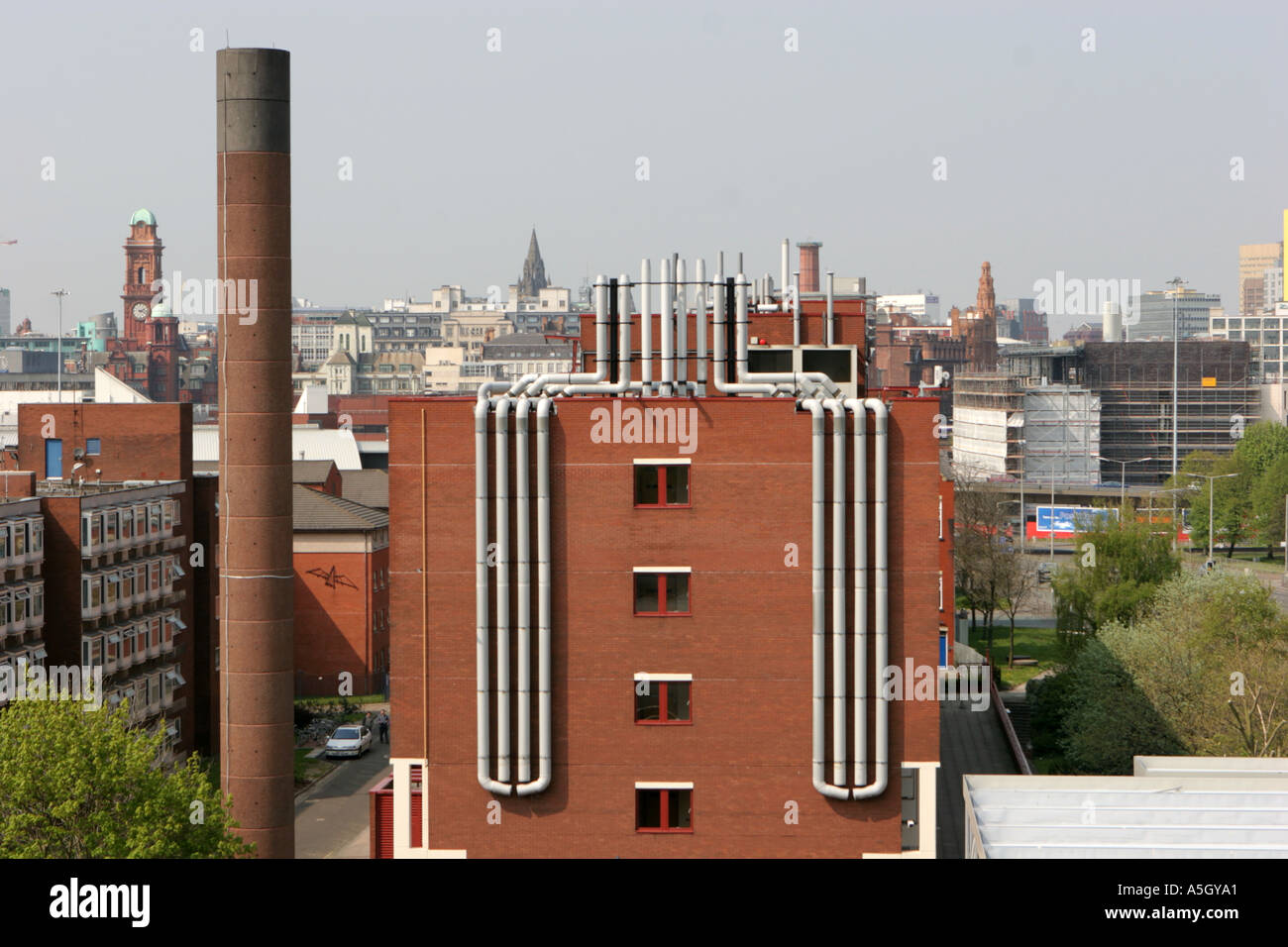 Materials Science Centre University of Manchester UK Stock Photo