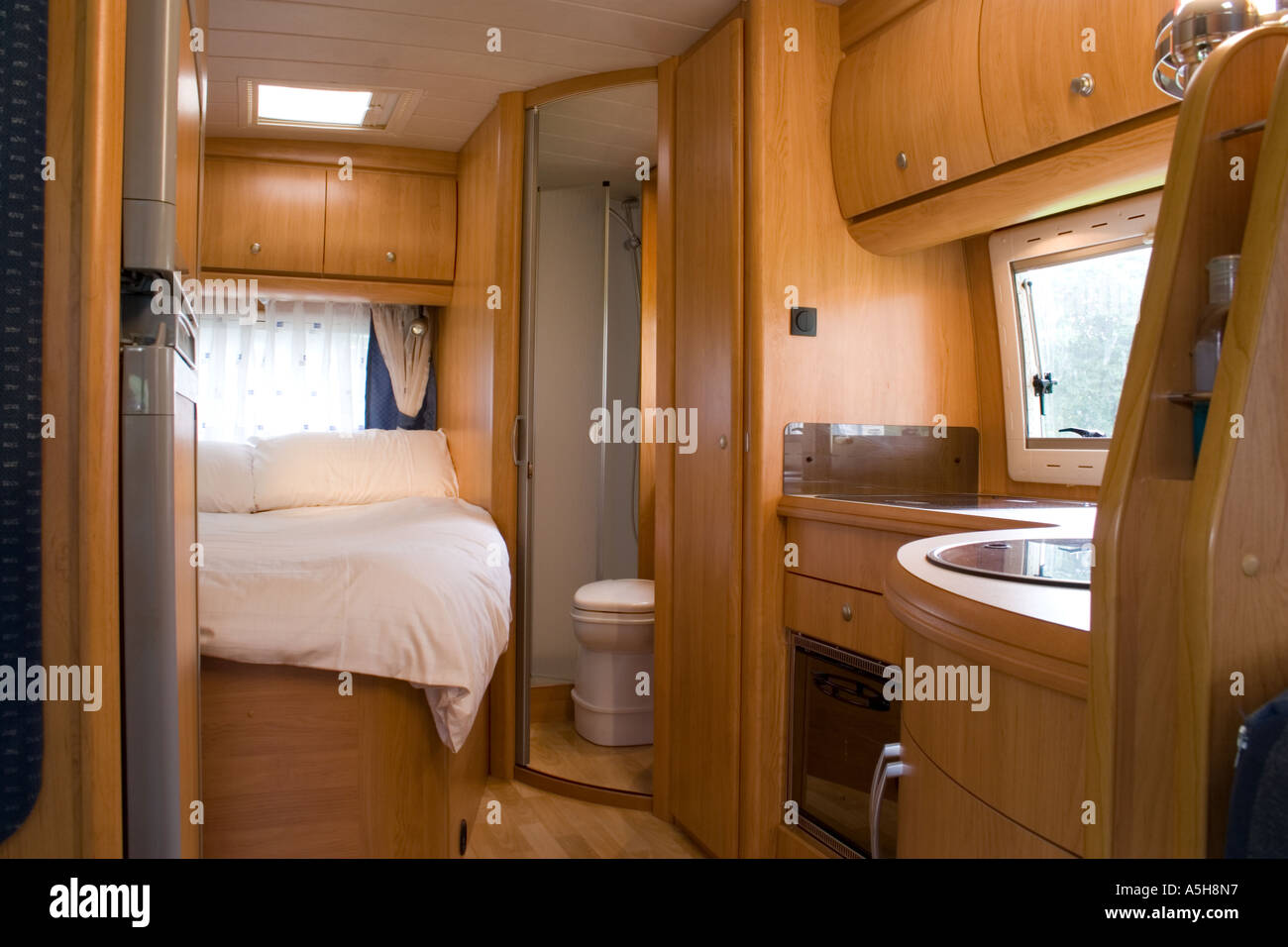 Modern Motorhome Interior Stock Photo 6465366