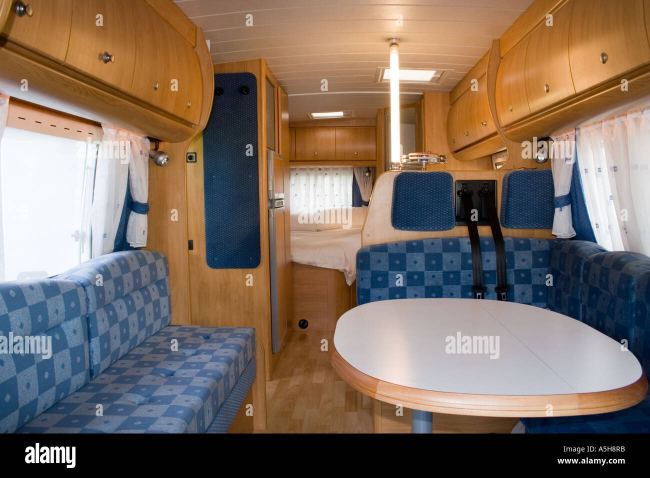 Modern Motorhome Interior Stock Photo 6465402