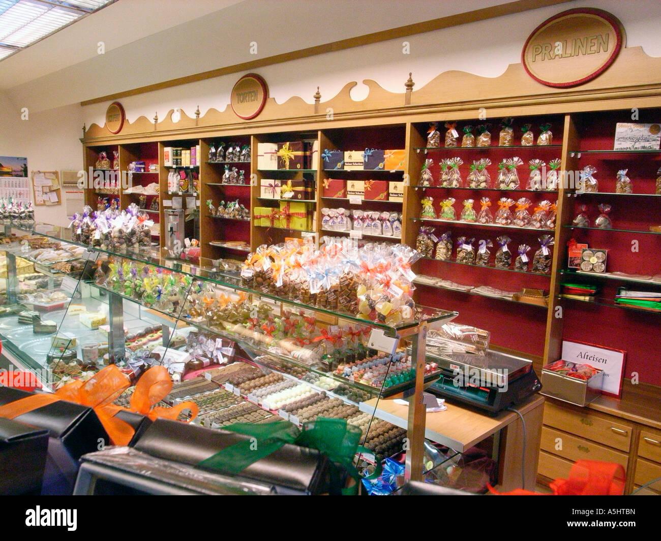 Switzerland Chocolate Store Stock Photos Amp Switzerland