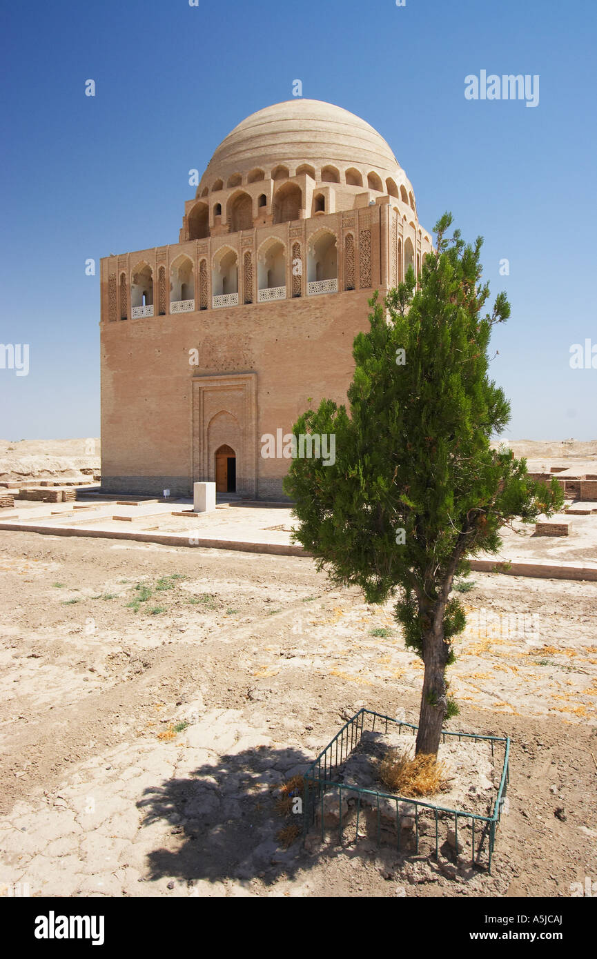 Mausoleum Of Sultan Sanjar At Merv Stock Photo