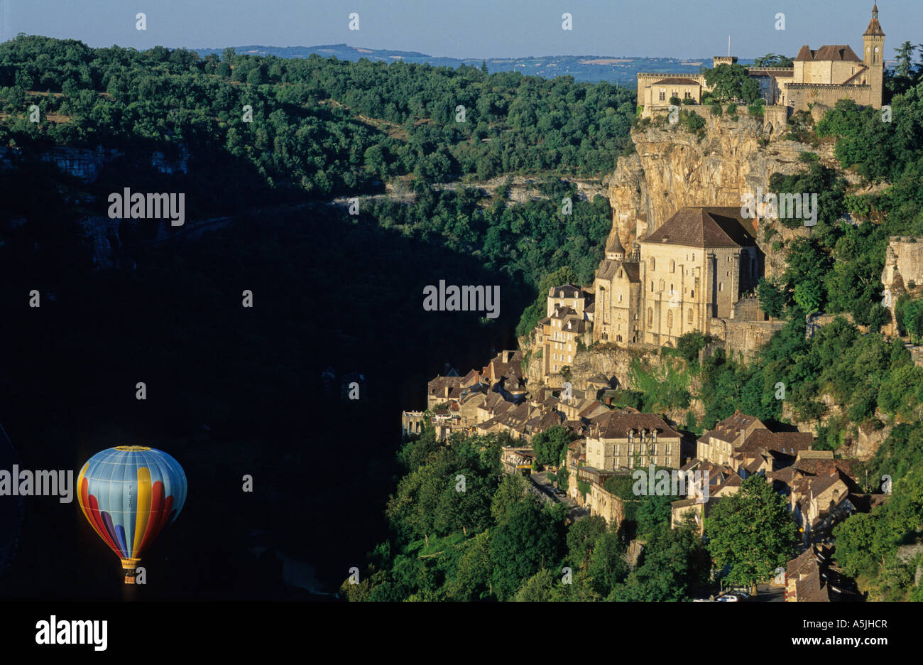 Rocamadour village. Lot region france Stock Photo