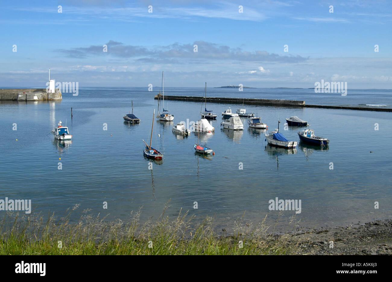 Seahouse Northumberland - Stock Image