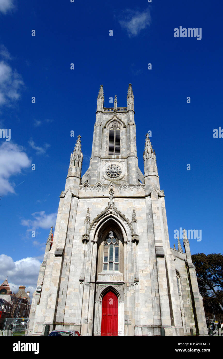 St Peters Church in Brighton built in 1828 by architect Sir Charles Barry. - Stock Image
