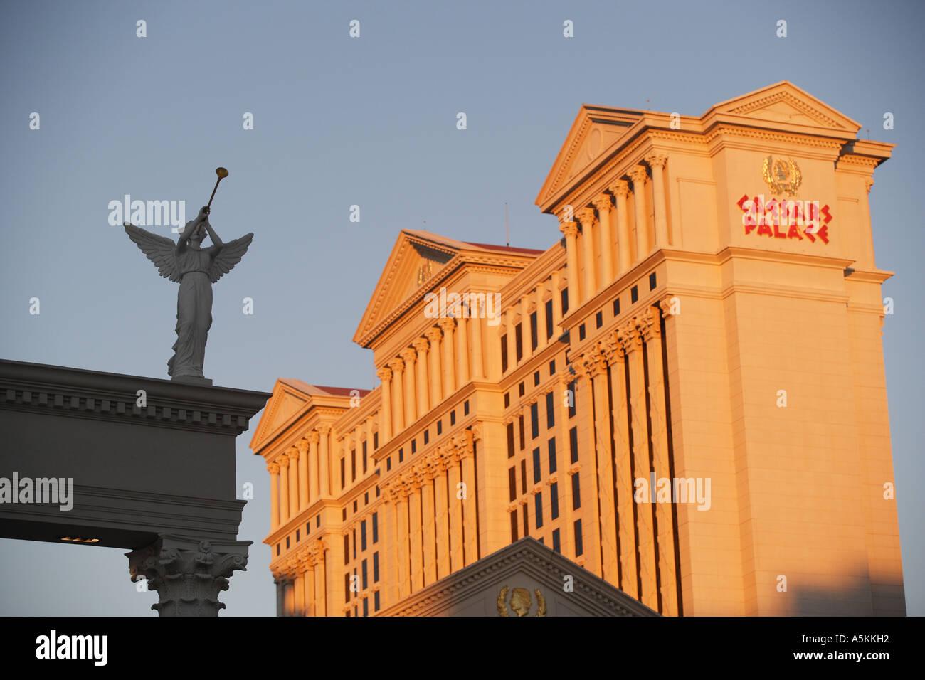 Caesars Palace Las Vegas Nevada - Stock Image