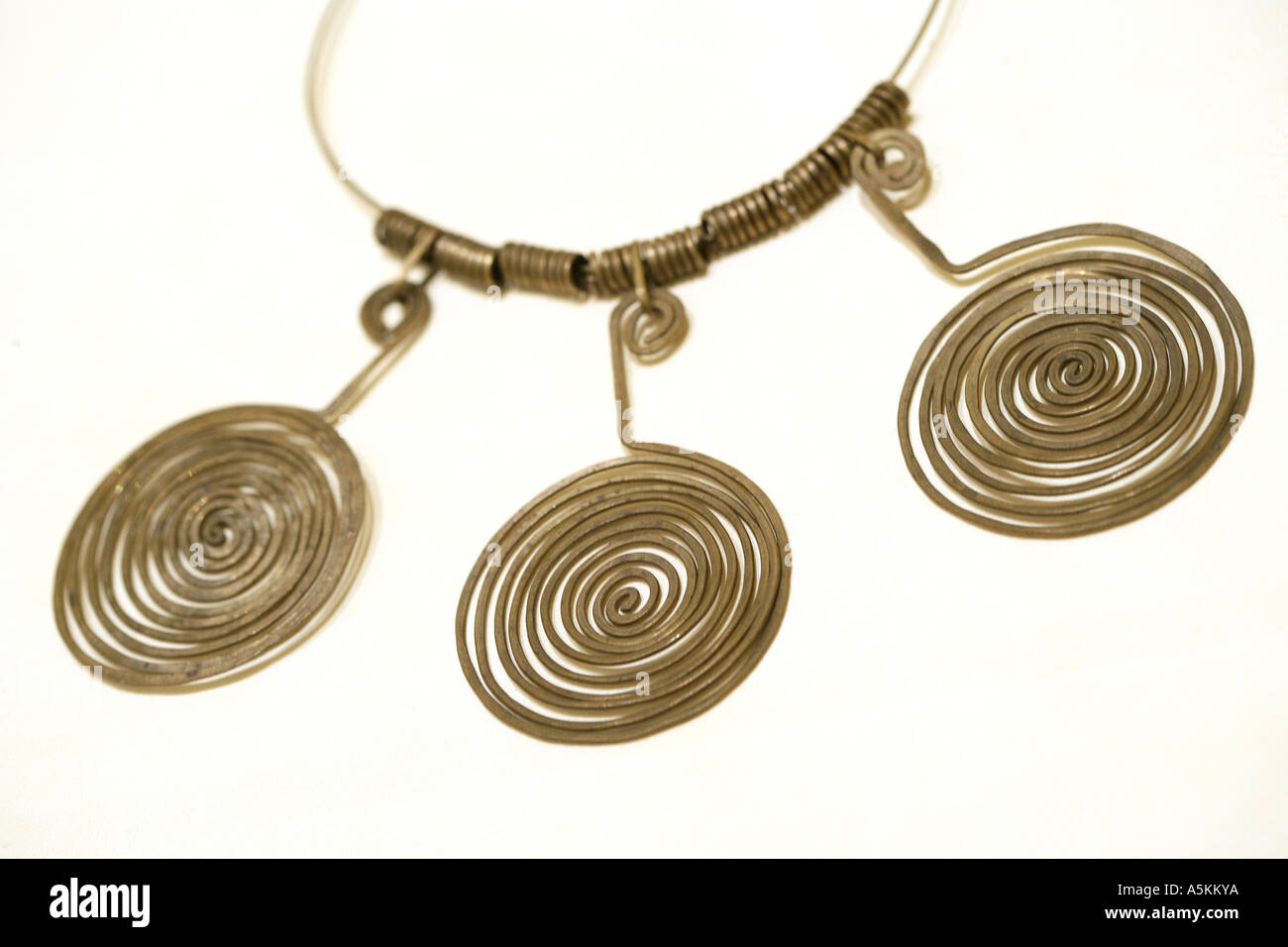 Alexander Calder Copper Jewelry - Stock Image