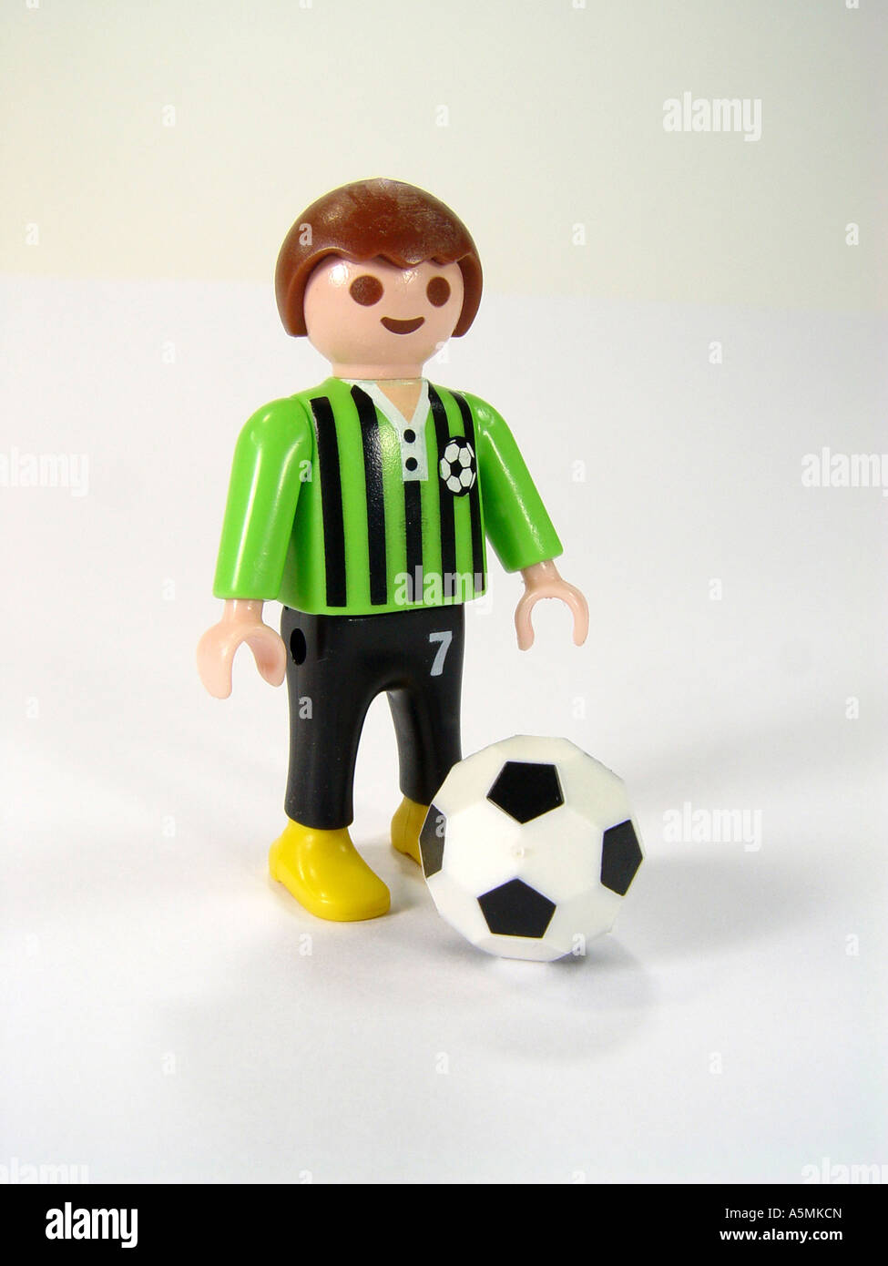 Fußballer soccer player - Stock Image