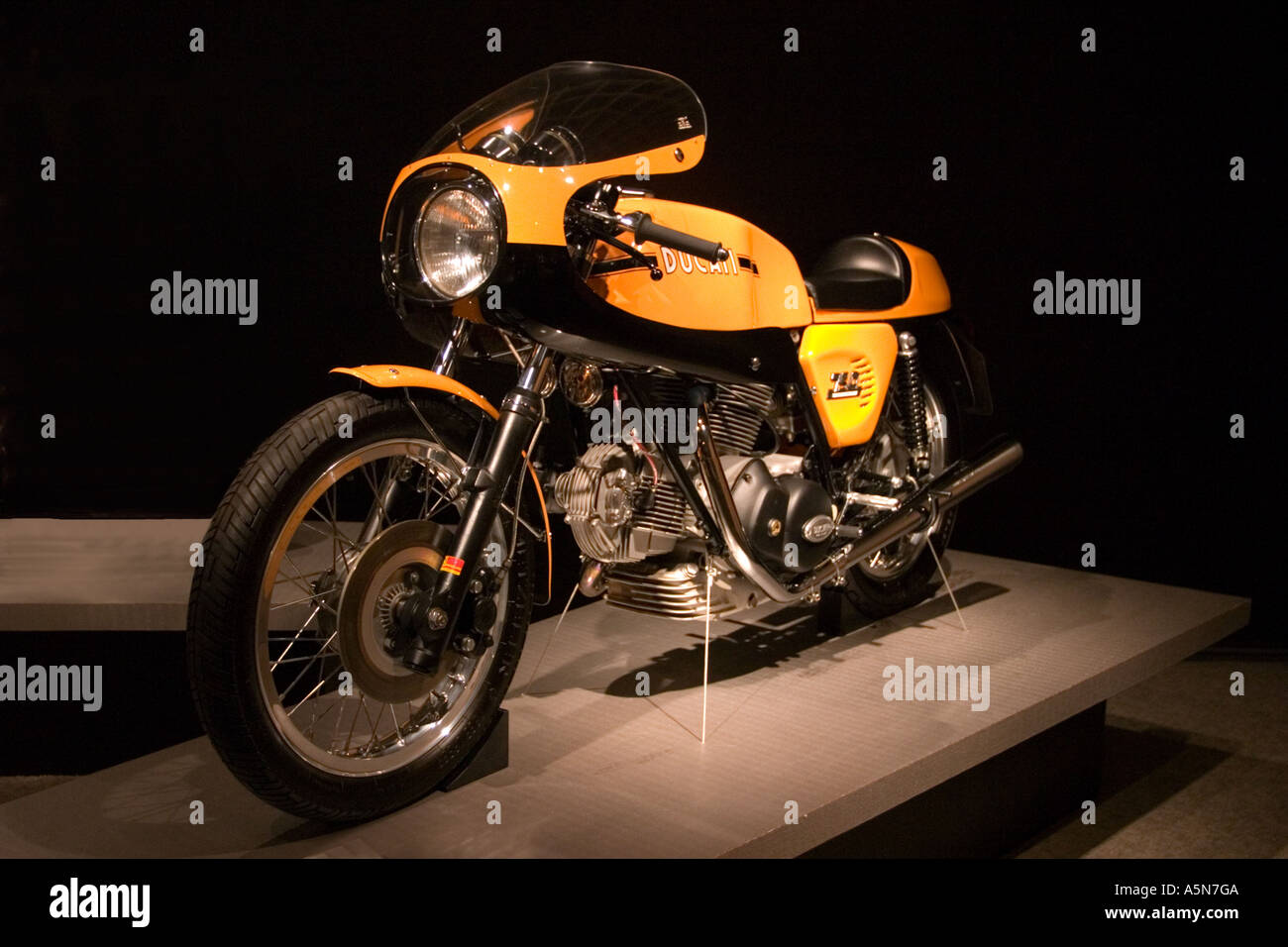 1973 Italian Ducati 750 Sport motorcycle - Stock Image