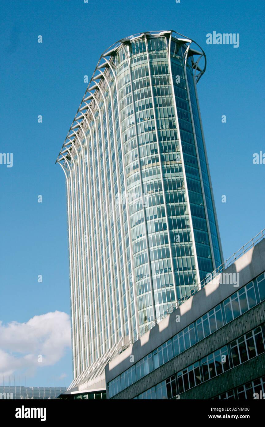 Citypoint office tower in Broadgate London UK EC1 EC2 - Stock Image