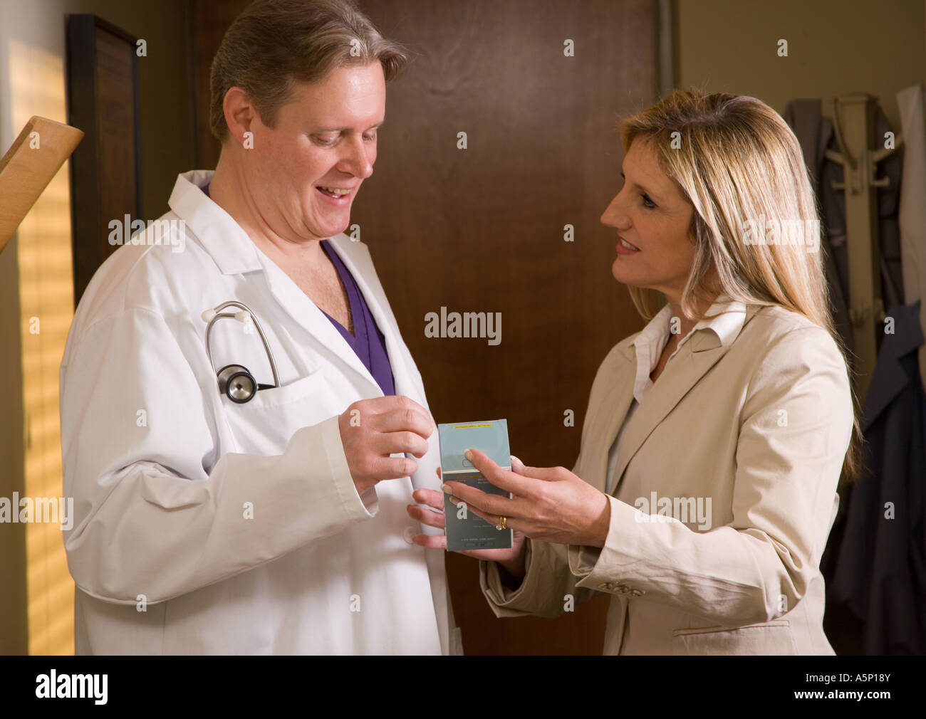 Pharmaceutical Sales Representatives Stock Photos Pharmaceutical